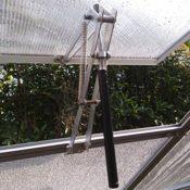 Automatischer Fensteröffner Fensterheber für Gewächshaus - bis 20kg -aus ALU/Edelstahl Nr.2