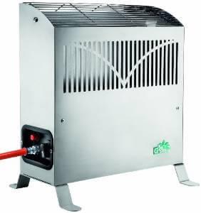 bio green gas gew chshausheizung frosty 2500 w. Black Bedroom Furniture Sets. Home Design Ideas