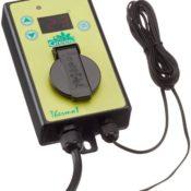 Das digitale Thermostat von Bio Green - super leichte Bedienung