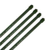 10x Pflanzstäbe grün Ø 16 x 1800 mm