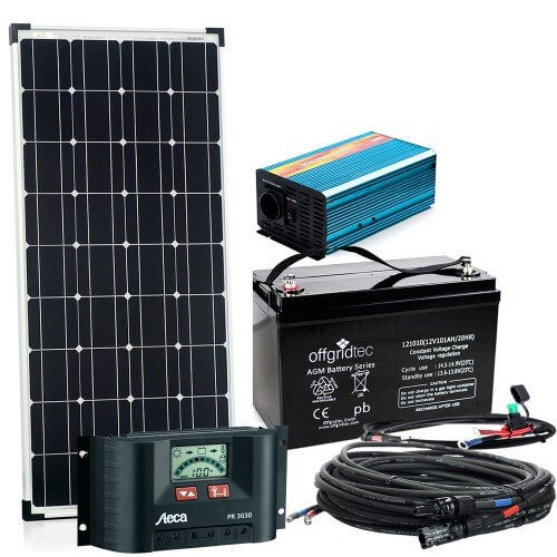 solaranlage autark s master 100w solar 600w ac leistung 12v 230v inselanlage solarset. Black Bedroom Furniture Sets. Home Design Ideas